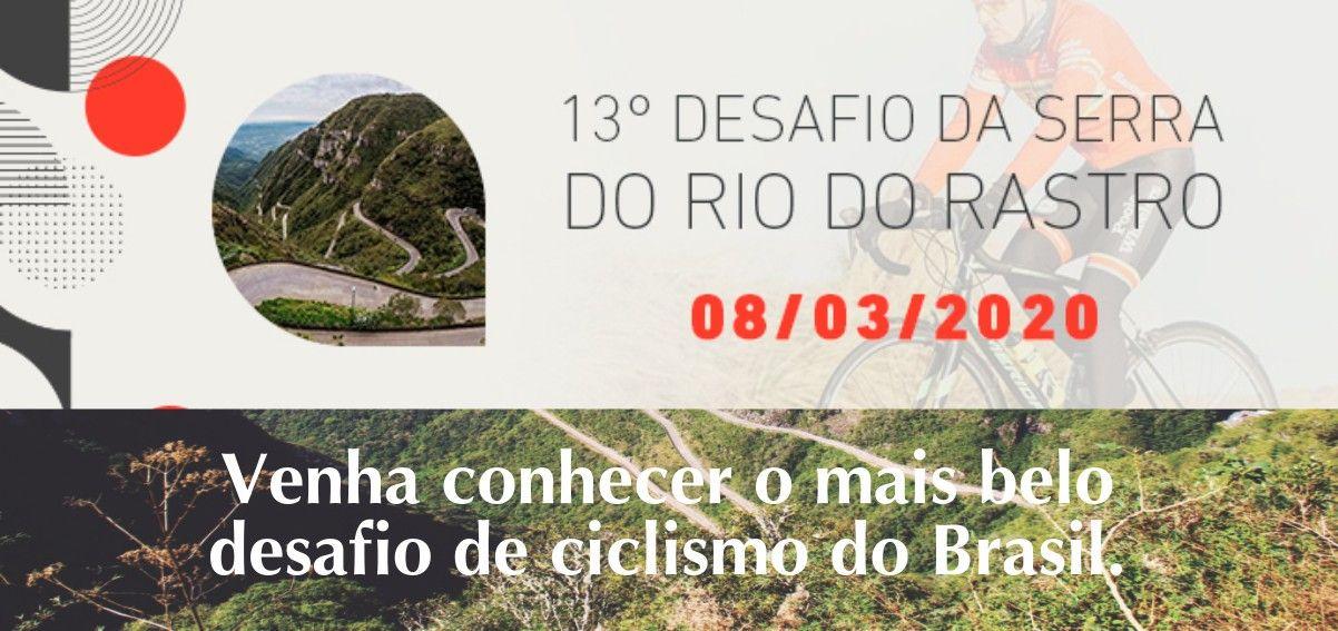 Banner do Desafio da Serra Rio do Rastro 2020