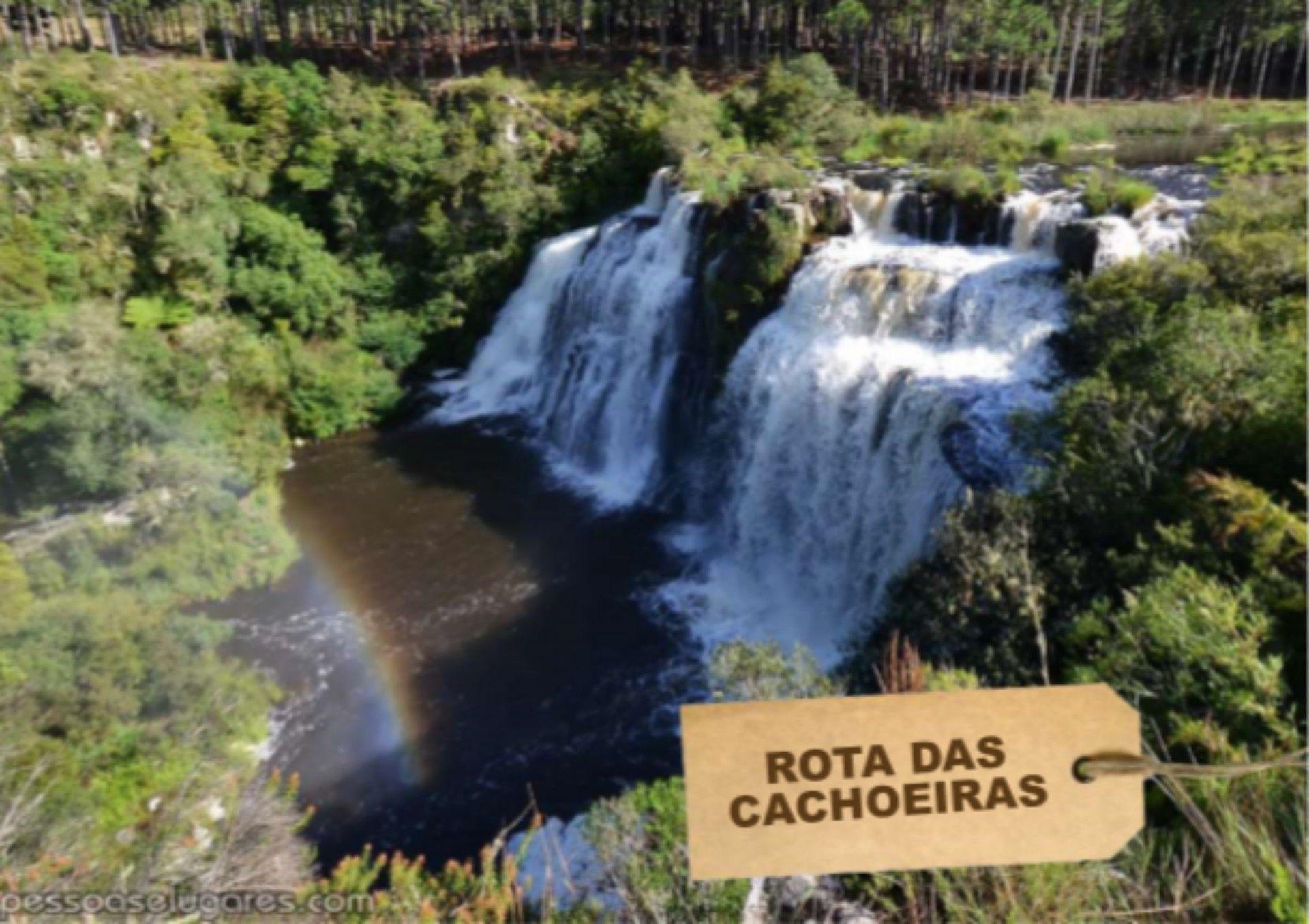 Cachoeira na serra Catarinense